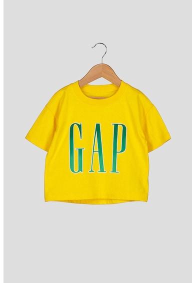 GAP Logómintás kerek nyakú póló 15 Lány