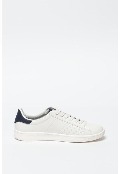 SUPERDRY Pantofi sport de piele ecologica Sleek Cupsole Barbati