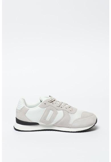 SUPERDRY Pantofi sport cu garnituri de piele intoarsa Retro Runner Barbati