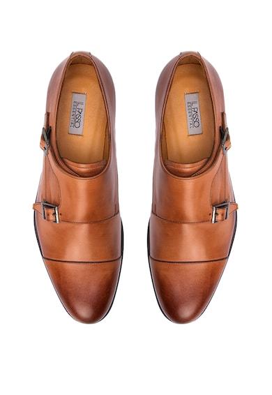 Il Passo Кожени обувки Monk Douglas Мъже