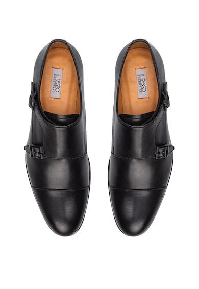 Il Passo Pantofi monk de piele Douglas Barbati