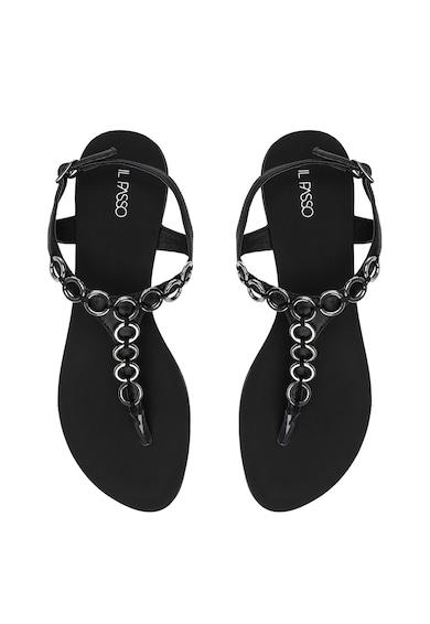Il Passo Кожени сандали Creola с разделителна каишка Жени