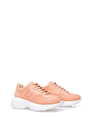 Il Passo Кожени спортни обувки Kathy с релефно лого Жени