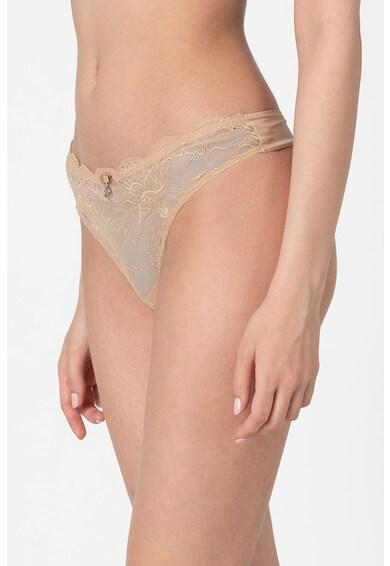 Emporio Armani Underwear Chiloti tanga de dantela Femei
