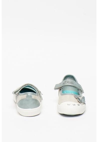 s.Oliver Pantofi Mary-Jane cu aplicatie in forma de fluture Fete