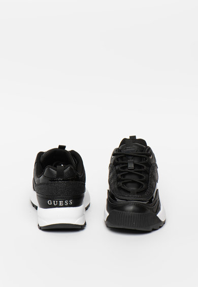Guess Pantofi sport cu talpa striata si detalii stralucitoare Kaysie Femei