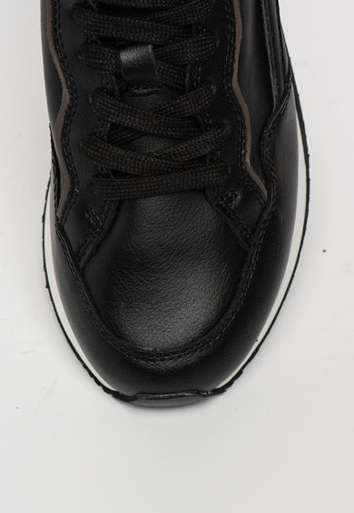 Guess Pantofi sport de piele si piele ecologica cu detalii contrastante Barbati