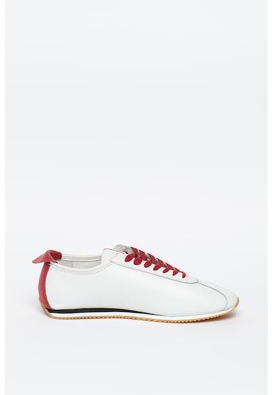 Guess Pantofi sport din piele si piele ecologica cu detaliu logo Torino Barbati