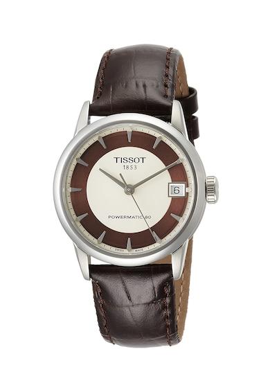 Tissot Часовник Powermatic с кожена каишка Жени