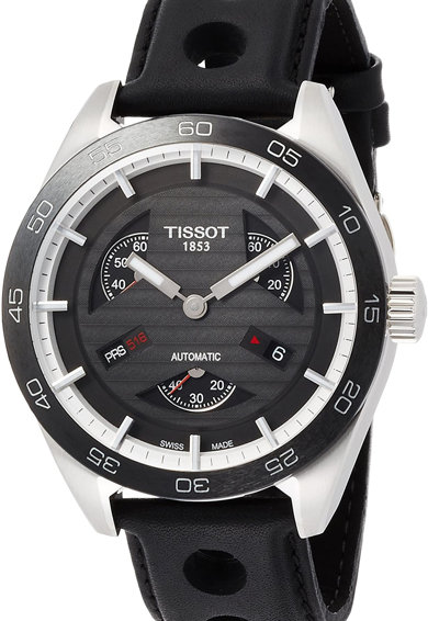 Tissot Автоматичен часовник Prs 516 с кожена каишка Мъже