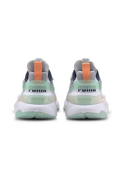 Puma Pantofi sport cu segmente de piele intoarsa si piele Rise Femei