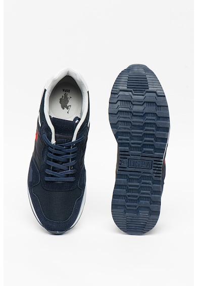 U.S. Polo Assn. Pantofi sport cu insertii de piele ecologica Noraho Barbati