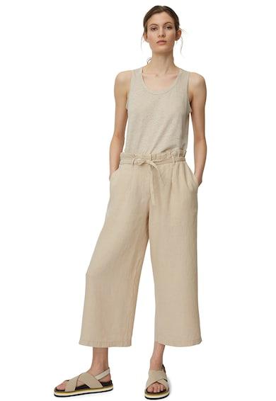 Marc O'Polo Pantaloni culotte de in, cu snur Femei