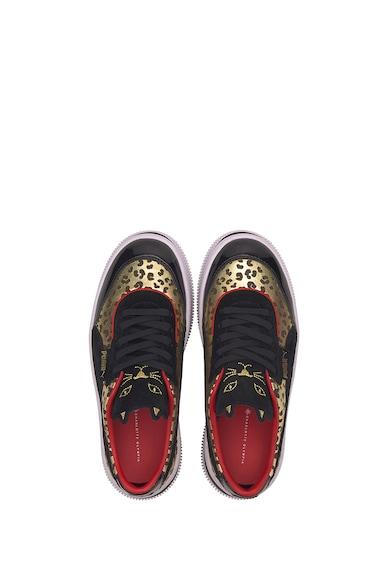 Puma Pantofi sport cu garnituri cu animal print Deva Charlotte Femei