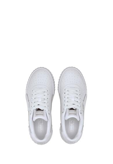 Puma Pantofi sport de piele cu detalii perforate Cali Snake Femei