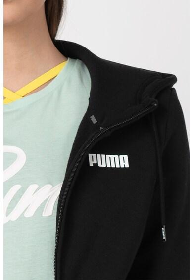 Puma Hanorac cu fermoar si buzunare laterale Essentials Femei