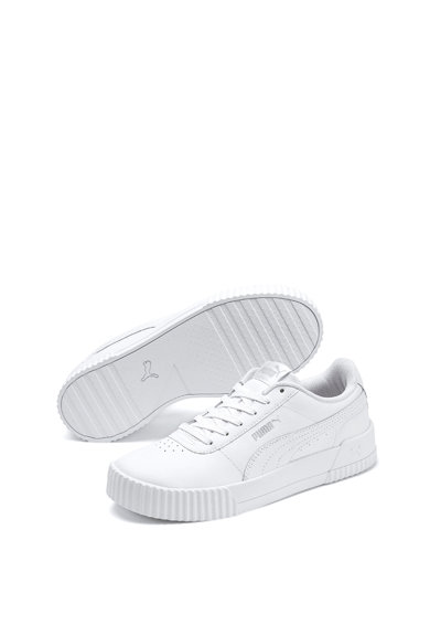 Puma Pantofi sport de piele, cu perforatii Carina Femei