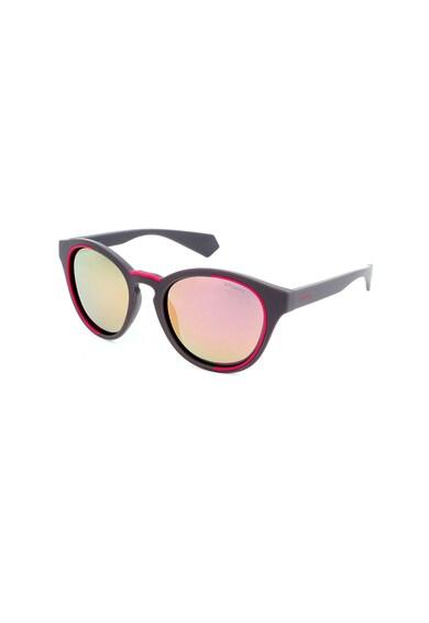 Polaroid Ochelari de soare unisex rotunzi cu lentile polarizate Femei