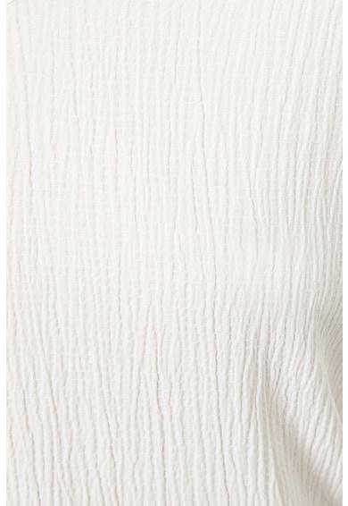 KOTON Bluza cu decolteu in V si model texturat Femei