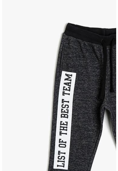 KOTON Pantaloni sport cu imprimeu text Baieti