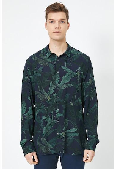 KOTON Camasa cu imprimeu tropical Barbati