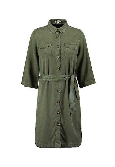 Garcia Рокля тип риза от лиосел и скосени джобове Жени