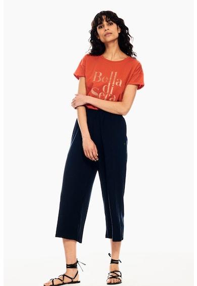 Garcia Памучна тениска с надпис Жени