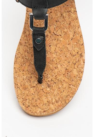 UGG Sandale de piele Aleigh Femei