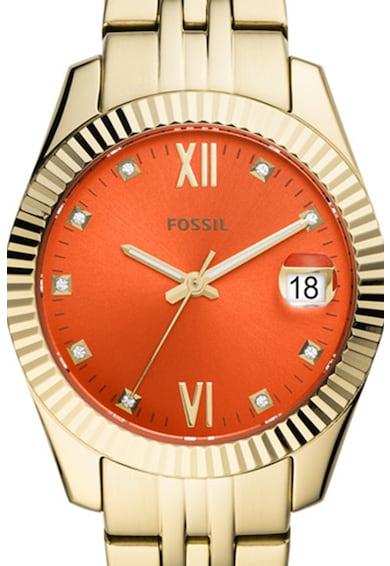 Fossil Scarlette mini fémszíjas karóra női
