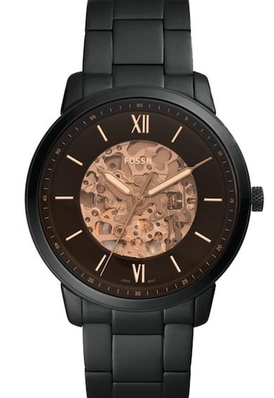 Fossil Ceas automatic din otel inoxidabil Neutra Barbati