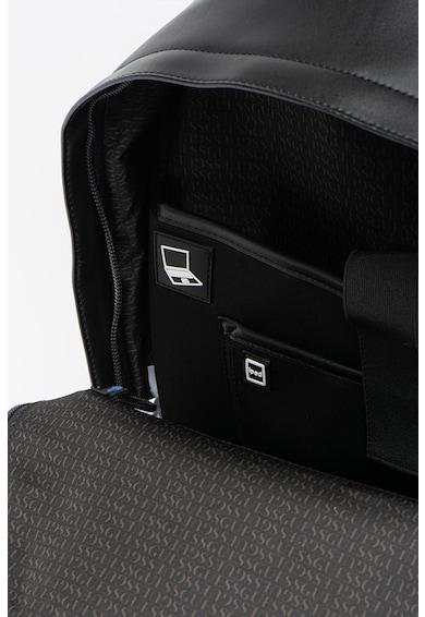 Guess Rucsac din piele ecologica cu compartiment pentru laptop Dan Barbati