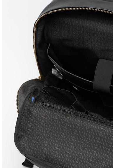 Guess Rucsac de piele ecologica, cu compartiment pentru laptop King Barbati