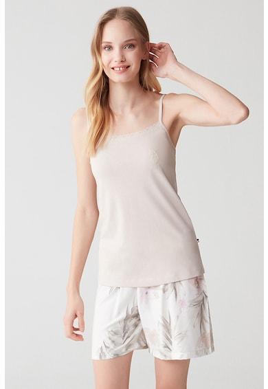 U.S. Polo Assn. Pijama scurta din amestec de modal Femei
