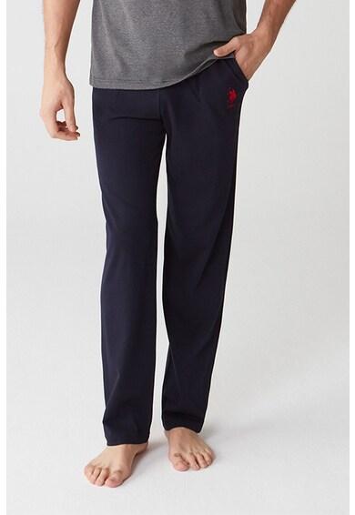 U.S. Polo Assn. Pijama cu logo contrastant Barbati