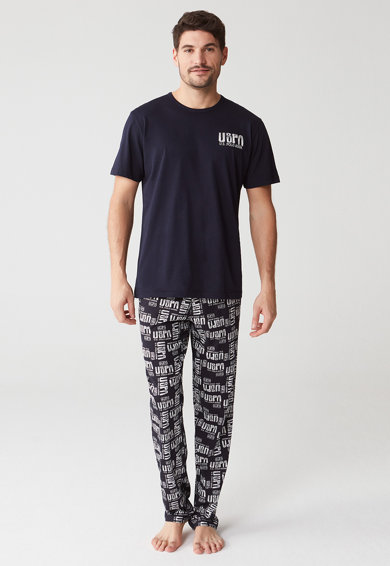 U.S. Polo Assn. Pijama cu model logo Barbati