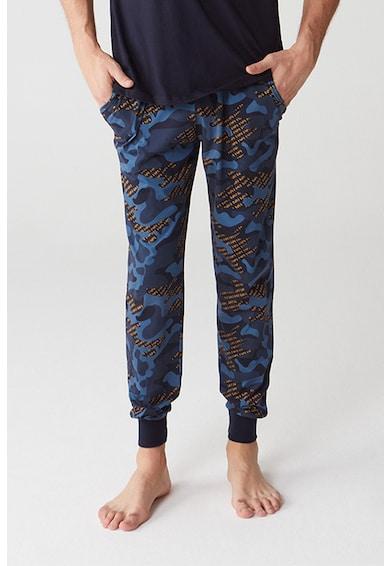 U.S. Polo Assn. Pijama cu model camuflaj Barbati