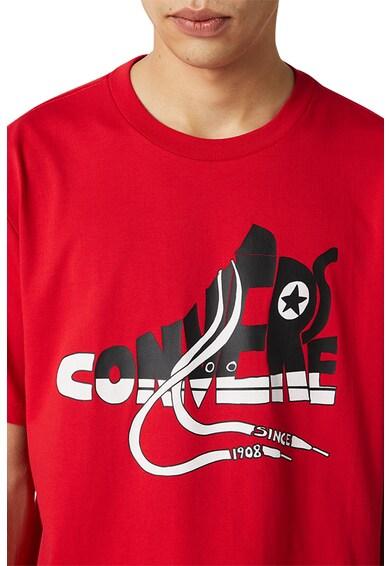Converse Art Tee kerek nyakú póló gumis mintával férfi
