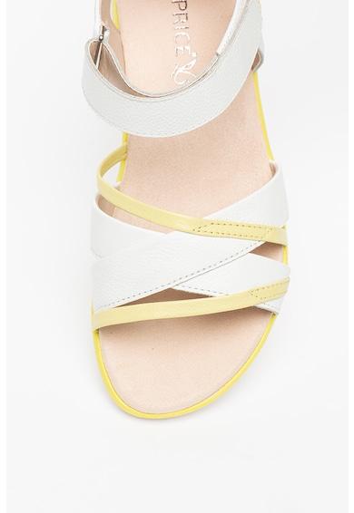 Caprice Sandale colorblock de piele Femei