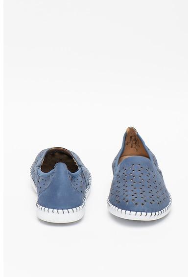 Caprice Pantofi slip-on de piele cu decupaje Femei