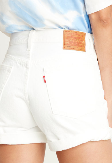 Levi's Pantaloni scurti din denim cu talie inalta Femei