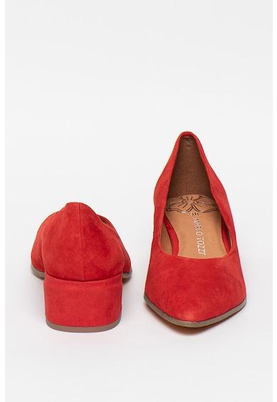Marco Tozzi Pantofi de piele intoarsa cu toc inalt Femei