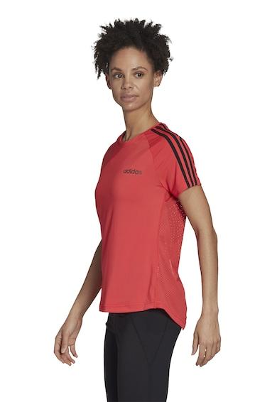 adidas Performance Tricou cu partea din spate de plasa, pentru fitness Femei