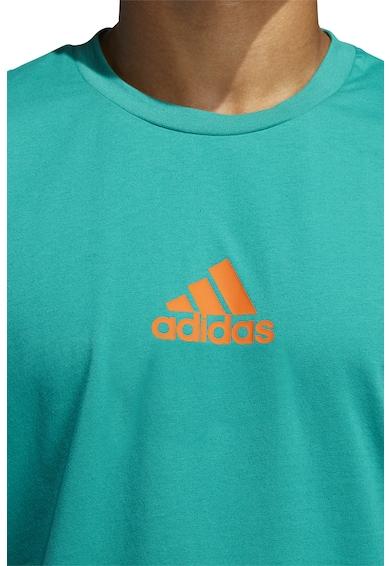 adidas Performance Logómintás kosárlabdapóló férfi