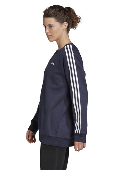 adidas Performance Bluza sport cu decolteu la baza gatului Essentials Boyfriend Femei