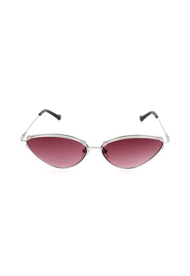 adidas Originals Ochelari de soare cat-eye cu rama metalica Femei