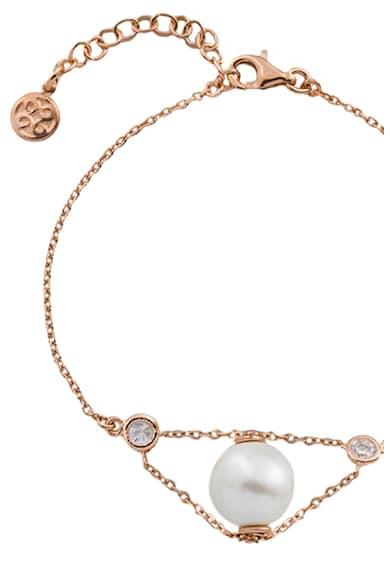 OXETTE Bratara decorata cu cristale si perla Femei