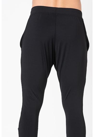 Asics pantaloni elastici cu imprimeu logo Barbati