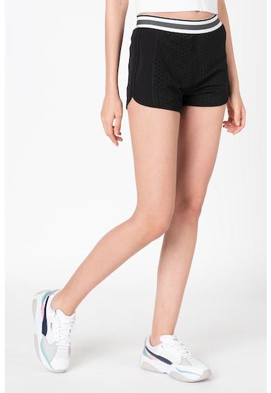 Puma Pantaloni scurti cu tehnologie dryCell, pentru fitness Varsity Femei