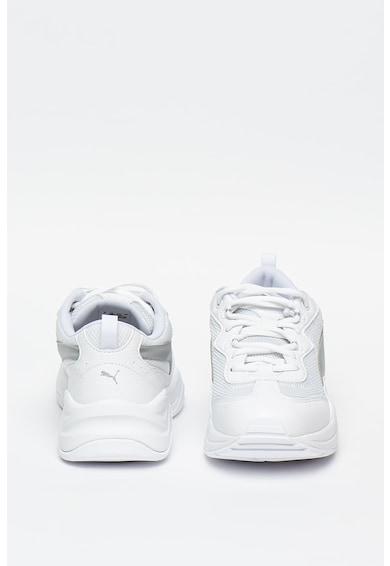 Puma Pantofi sport de piele ecologica, cu garnitura metalizata Cilia Femei