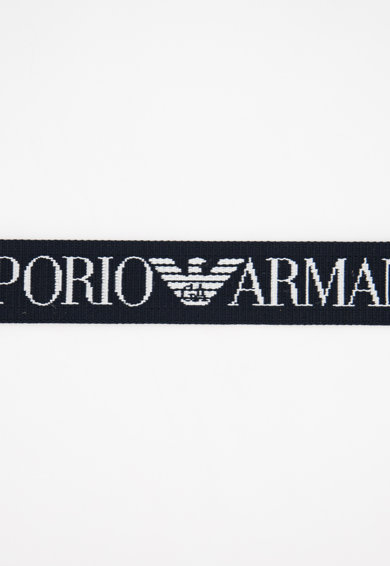 Emporio Armani Curea reversibila din material textil cu inel in forma de D Barbati